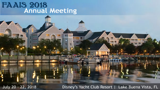 2018 Annual Meeting, July 20 - July 22